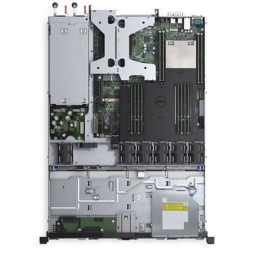 Сервер Dell PowerEdge R430 (1U Rack, Xeon E5-2650, 2200 МГц, 12 ядер, 30 Мб, 2x16гб, 3.5