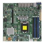 Серверная материнская плата Supermicro X11SCL-LN4F
