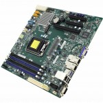 Серверная материнская плата Supermicro X11SSH-F Motherboard