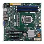 Серверная материнская плата Supermicro Motherboard X11SSH-LN4F-O