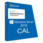 Брендированный софт HPE Windows Server 2016 1-Device CAL