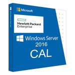 Брендированный софт HPE Windows Server 2016 1-User CAL