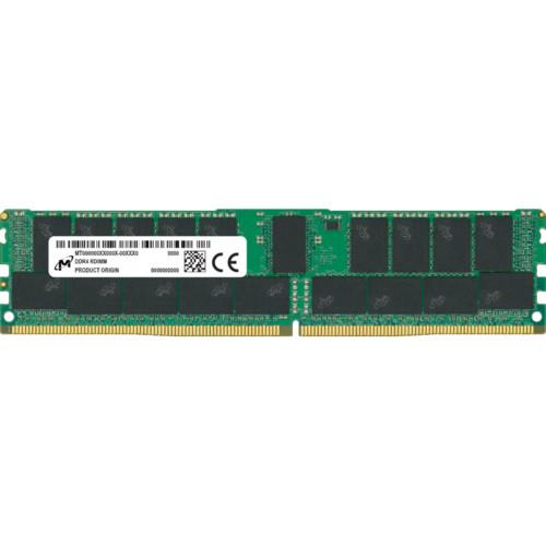 Серверная оперативная память ОЗУ Crucial DDR4 RDIMM 16GB 2Rx8 2933 CL21 (MTA18ASF2G72PDZ-2G9J3)