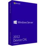 Брендированный софт Dell Windows Server 2012 5Clt Device CAL