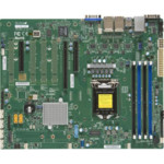 Серверная материнская плата Supermicro X11SSi-LN4F