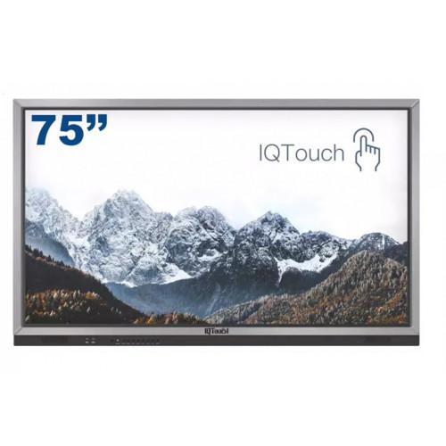 """Интерактивная доска IQBoard LED панель 75"""" IQTouch, UHD4K, T-серия, (1-LE075MDT07NM10)"""