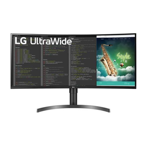 Монитор LG 35'' UltraWide QHD HDR VA Curved (35WN75C-B.ARUZ)