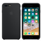 Прочее Apple iPhone 8 Plus / 7 Plus Silicone Case - Black