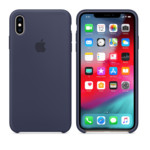 Прочее Apple iPhone XS, Silicone Case - Midnight Blue