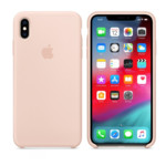 Прочее Apple iPhone XS, Silicone Case - Pink Sand