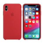 Прочее Apple iPhone XS Max, Silicone Case - Red