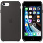 Аксессуары для телефона Apple iPhone SE Silicone Case Black