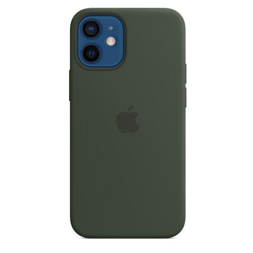 Аксессуары для смартфона Apple iPhone 12 Mini Silicone Case with MagSafe Cyprus Green (MHKR3)