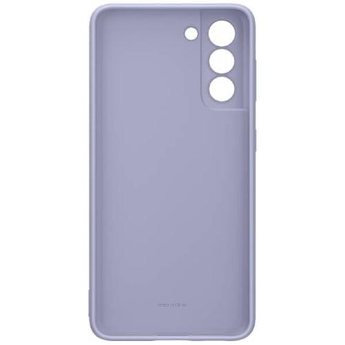 Аксессуары для смартфона Samsung Чехол для Galaxy S21 Silicone Cover violet (EF-PG991TVEGRU)