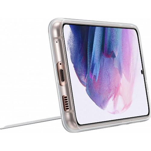 Аксессуары для смартфона Samsung Чехол для Galaxy S21 Plus Clear Standing Cover transparent (EF-JG996CTEGRU)