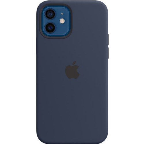 Аксессуары для смартфона Apple iPhone 12 | 12 Pro Silicone Case with MagSafe - Deep Navy (1316391)