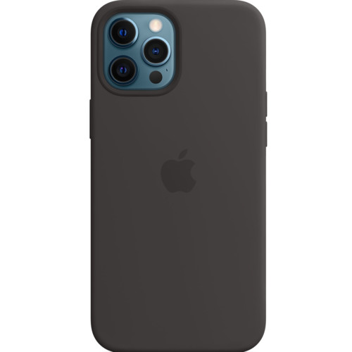 Аксессуары для смартфона Apple iPhone 12 Pro Max Silicone Case with MagSafe - Black (1316614)
