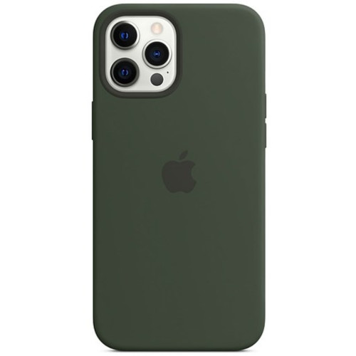 Аксессуары для смартфона Apple iPhone 12 Pro Max Silicone Case with MagSafe - Cypress Green (MHLC3ZM/A)