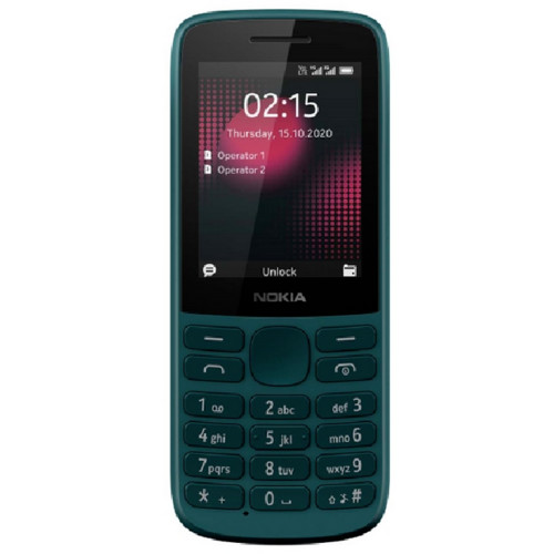 Мобильный телефон Nokia 215 DS LTE Cyan (1318937)