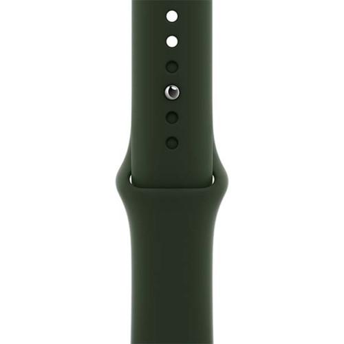 Аксессуары для смартфона Apple Ремешок 40mm Cyprus Green Sport Band - Regular (MG423ZM/A)