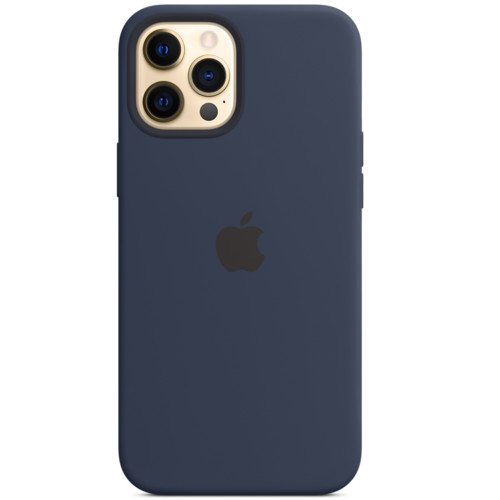 Аксессуары для смартфона Apple Чехол для iPhone 12 Pro Max Silicone Case with MagSafe - Deep Navy (MHLD3ZM/A)
