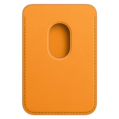 Аксессуары для смартфона Apple Чехол для iPhone Leather Wallet with MagSafe - California Poppy (MHLP3ZM/A)