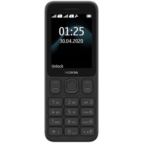 Мобильный телефон Nokia 125 DS  Black (1318938)