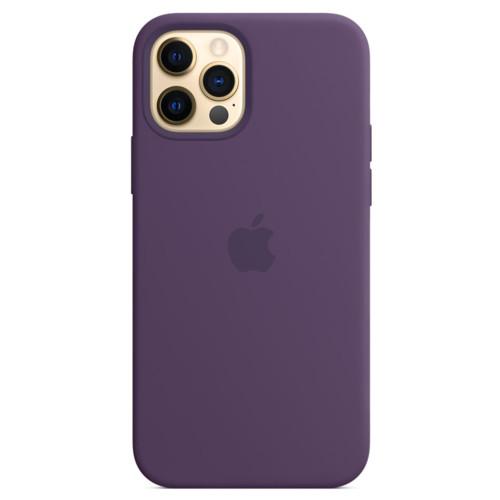 Аксессуары для смартфона Apple Чехол для iPhone 12 Pro Max Silicone Case with MagSafe - Amethyst (MK083ZM/A)