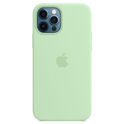 Аксессуары для смартфона Apple Чехол для iPhone 12 Pro Max Silicone Case with MagSafe - Pistachio (MK053ZM/A)
