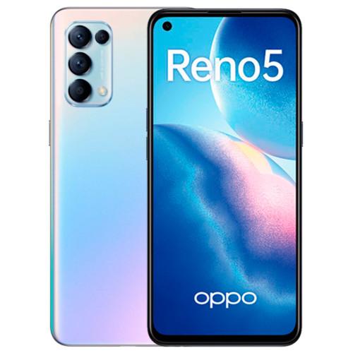 Смартфон Oppo Reno 5 Fantasy Silver (CPH2159) (Reno 5 Fantasy Silver (CPH2159))
