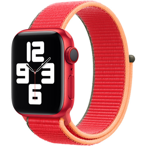 Аксессуары для смартфона Apple Ремешок 40mm (PRODUCT)RED Sport Loop (MJFW3ZM/A)