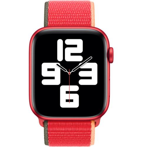 Аксессуары для смартфона Apple Ремешок 44mm (PRODUCT)RED Sport Loop (MJG33ZM/A)