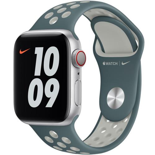 Аксессуары для смартфона Apple Ремешок 40mm Hasta/Light Silver Nike Sport Band - Regular (MJ6G3ZM/A)