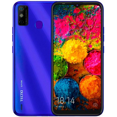 Смартфон TECNO Spark 6 GO 2/32 Blue (KE5-BLUE)