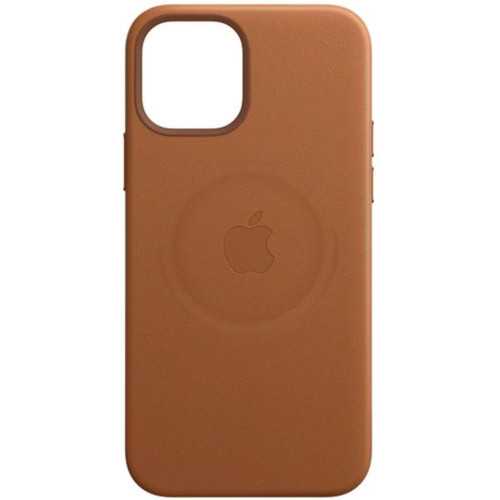Аксессуары для смартфона Apple Чехол iPhone 12 Pro Max Leather Case with MagSafe - Saddle Brown (MHKL3ZM/A)