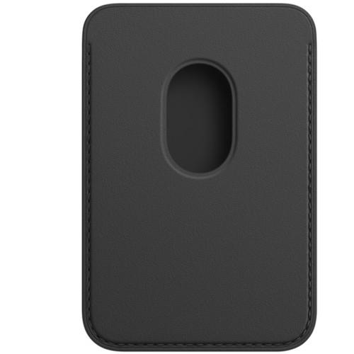 Аксессуары для смартфона Apple iPhone Leather Wallet with MagSafe - Black (MHLR3ZM/A)