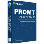 Офисный пакет PROMT Право на использование Professional 20 Многоязычный, Химическая промышленность