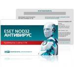 Антивирус Eset NOD32 Антивирус  - продление лицензии на 1 год на 3ПК