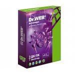 Антивирус Dr.Web Лицензионный сертификат для 2 ПК на 1 год + 1 месяц в подарок