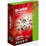 Антивирус Dr.Web Security Space Лицензионный сертификат для 2 ПК на 1 год + 1 месяц в подарок
