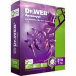 Антивирус Dr.Web Антивирус Dr.Web Лицензионный сертификат для 2 ПК на 1 год + 1 месяц в подарок