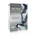 Софт Eset NOD32 SMALL Business Pack продление (1 год / 5 пользователей) электронный ключ