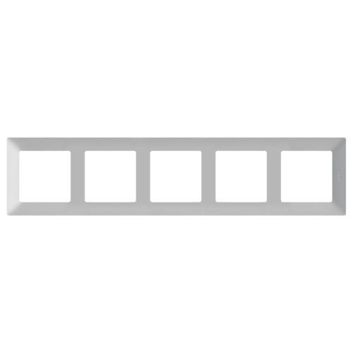 Аксессуар для кабельных сетей Legrand Рамка 5 постов Valena Life (754135)