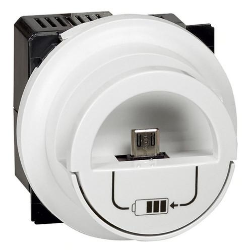 Аксессуар для кабельных сетей Legrand Механизм розетки USB Legrand CELIANE, скрытый монтаж, 067462 (067462)