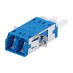 Аксессуар для оптических сетей CommScope LC Duplex Adapter, Ceramic align.sleeve, blue (SM)