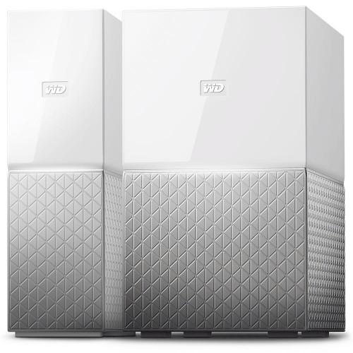 Дисковая системы хранения данных СХД Western Digital My Cloud Home (4ТБ) (WDBVXC0040HWT-EESN)