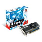 Видеокарта MSI Radeon R7 240 2GD3 LP