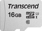 Flash карта Transcend Карта памяти MicroSD 16GB Class 10 U1