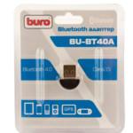 Аксессуар для ПК и Ноутбука Buro Адаптер USB BU-BT40A Bluetooth 4.0+EDR class 1.5 20м черный