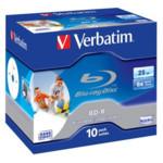 Оптический привод Verbatim Диск BD-R 25Gb 6x Jewel case (10шт) Printable